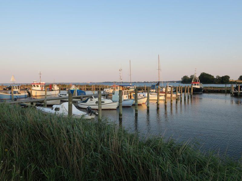 Sortsø havn, Danmark