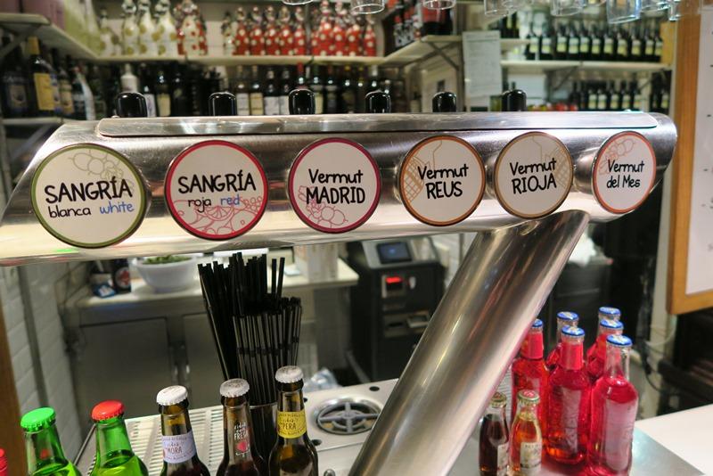 De er vilde med vermouth i Madrid