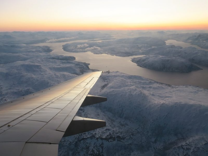 På vej til Tromsø, Norge