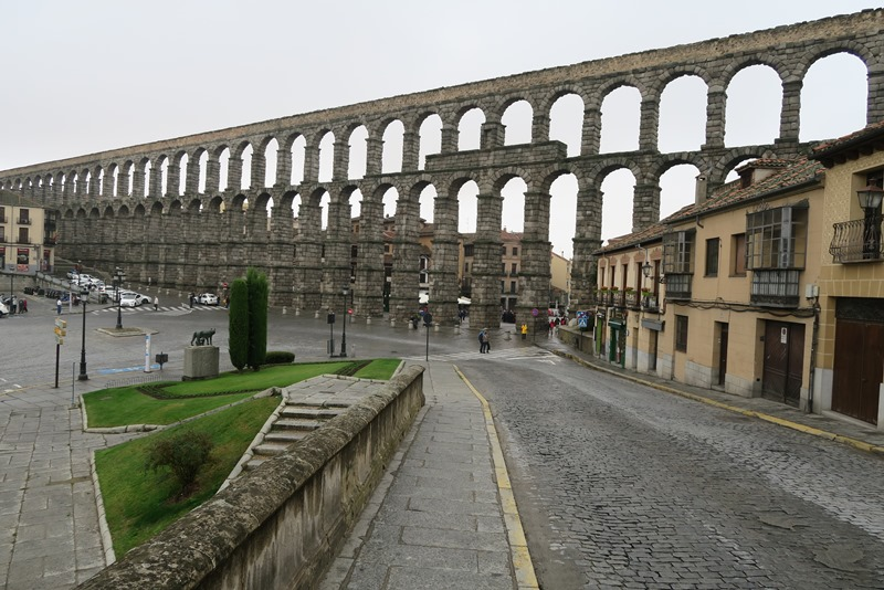 Akvædukten i Segovia, Spanien