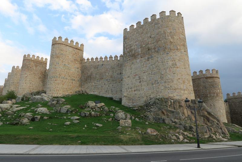 Bymuren rundt om Ávila, Spanien