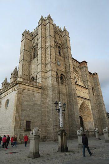 Kirken i Ávila, Spanien