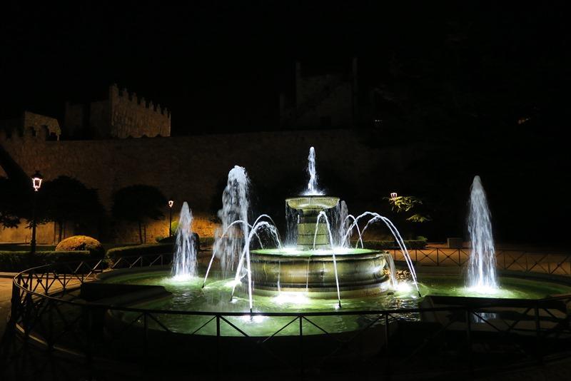 Springvand i Ávila, Spanien