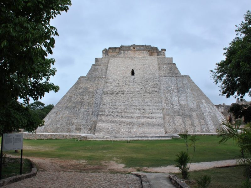 Smukke Uxmal i Mexico
