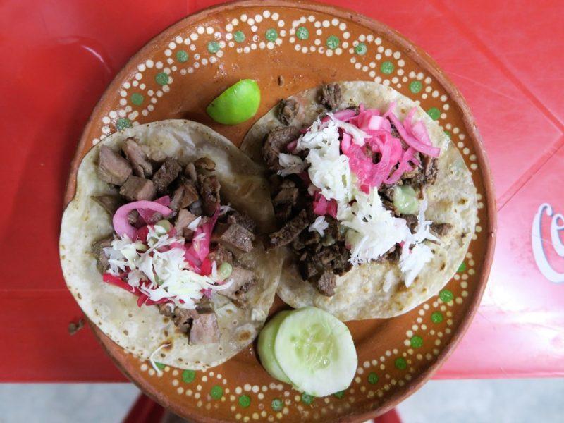 Vores elskede tacos i Sonora, Mexico