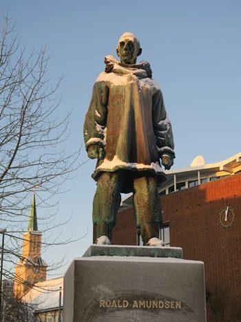 Polarforsker Roal Amundsen i Tromsø
