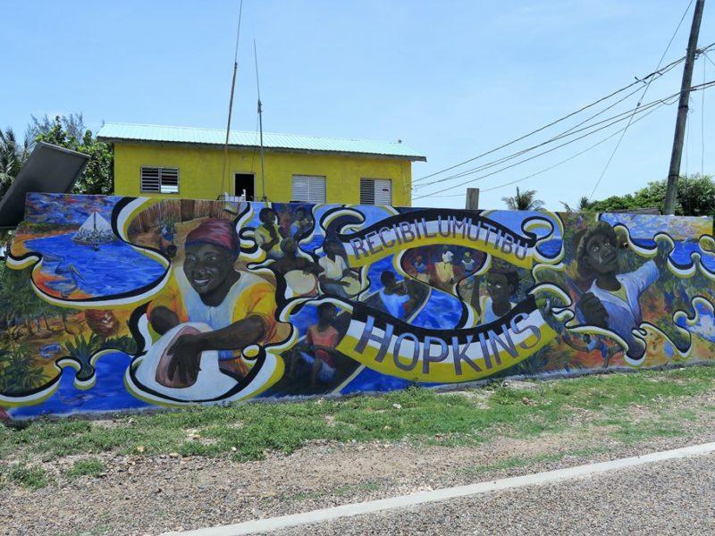 Den lille by Hopkins, Belize