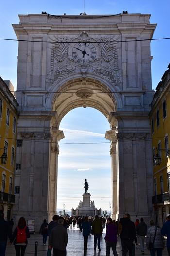 Triumfbuen, Lissabon, Portugal