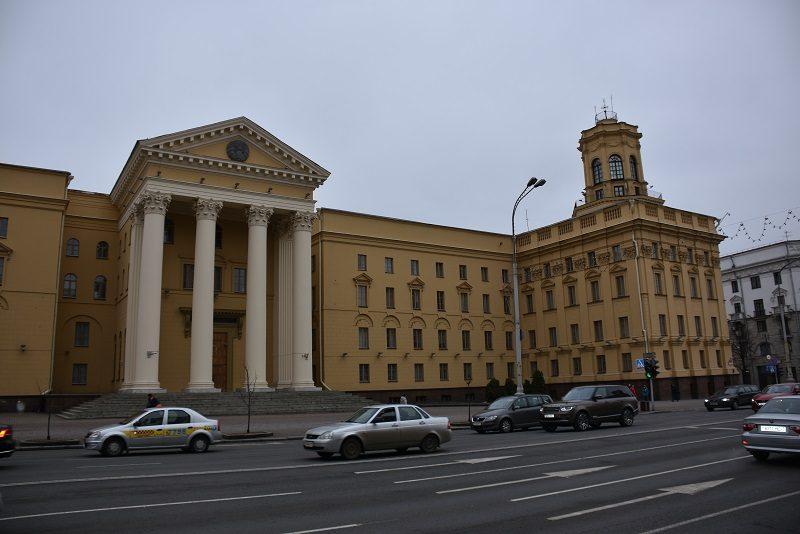 KGB i Minsk, Hviderusland
