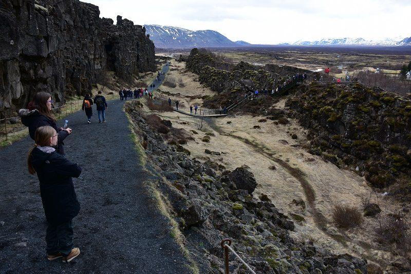 Thingvellir, Den gyldne cirkel, Island