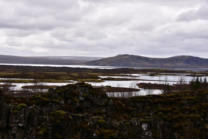 Smukt landskan, Island