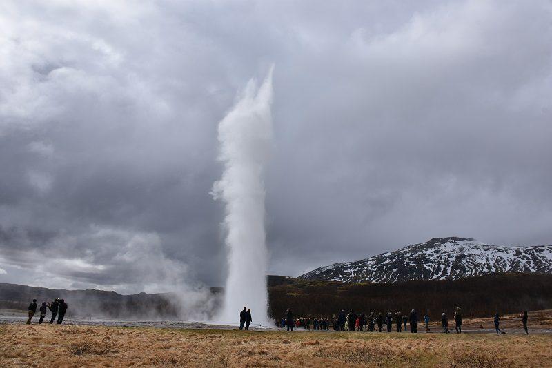 Gejser, Den gyldne cirkel, Island