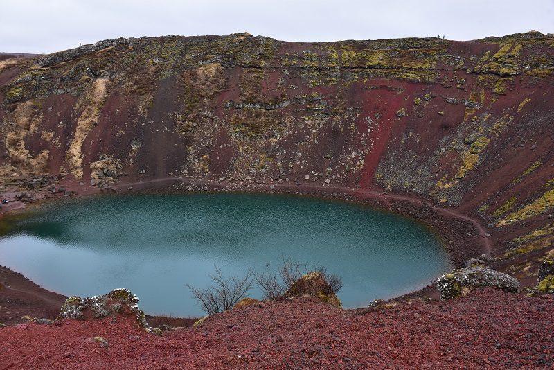 Vulkankrateret Kerid, Island