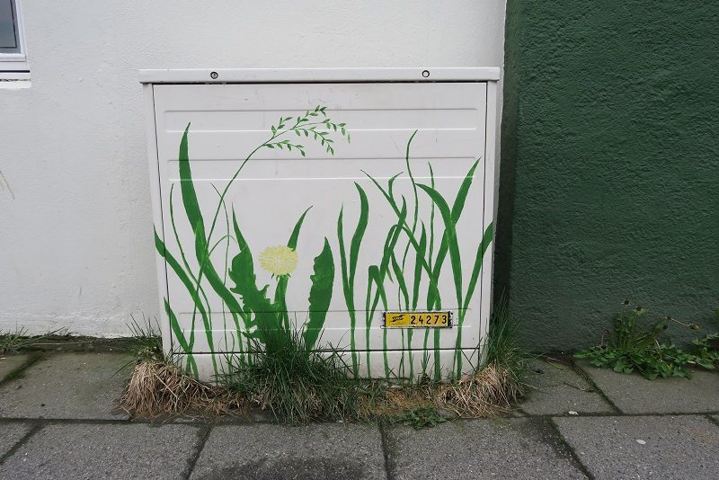 Streetart, Reykjavik, Island