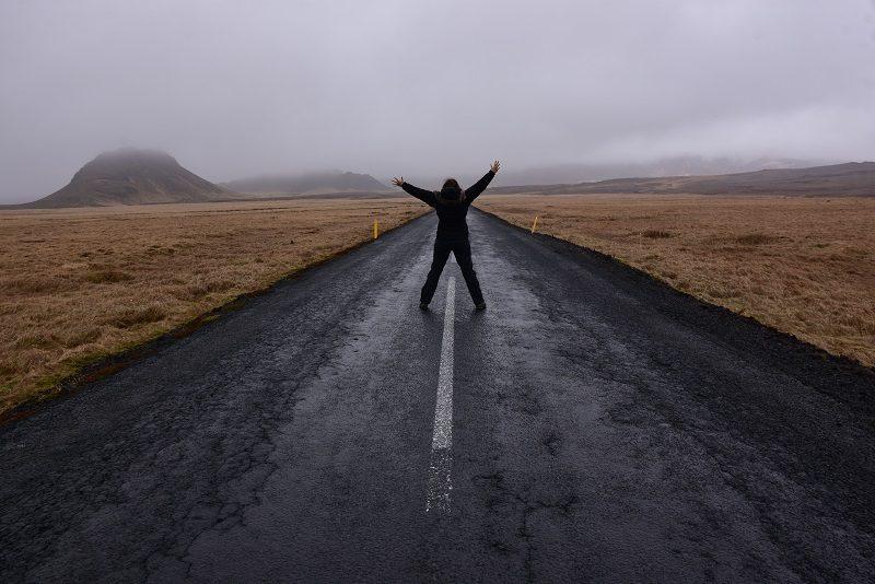 Roadtrip på Reykjanes, Island