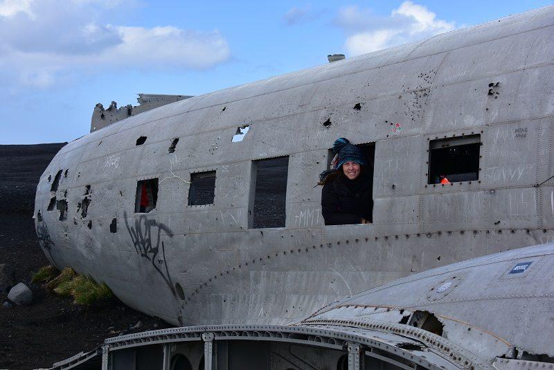 Flyvraget ved Vik, Island