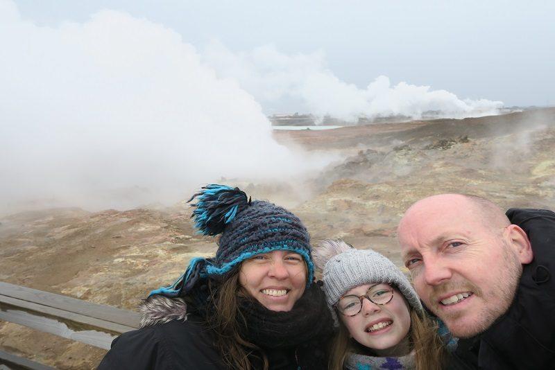 Termisk aktivitet på Reykjanes