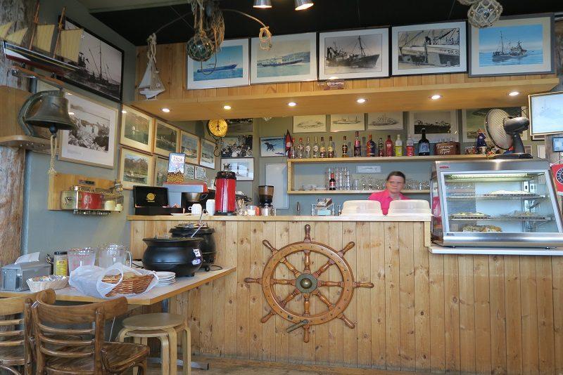 Cafe Bryggen, Grindavik, Island