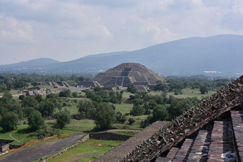De fantastiske pyramider ved Teotihuacan, Mexico