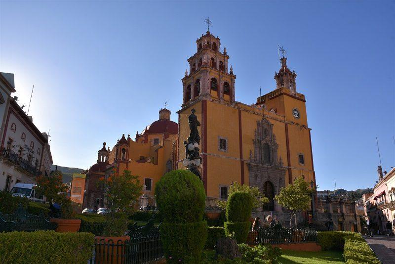 Kirke i Guanajuato, Mexico