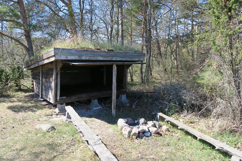 Shelter på Øland3