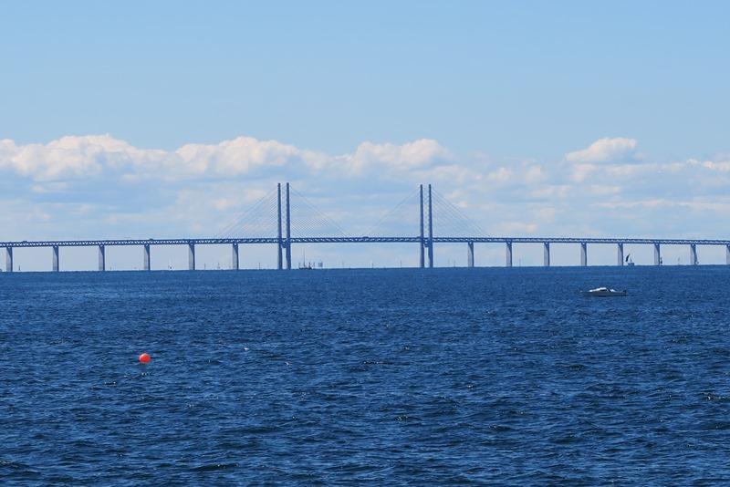 Øresundsbroen set fra Malmø