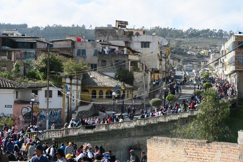 Gadebillede i Otavalo