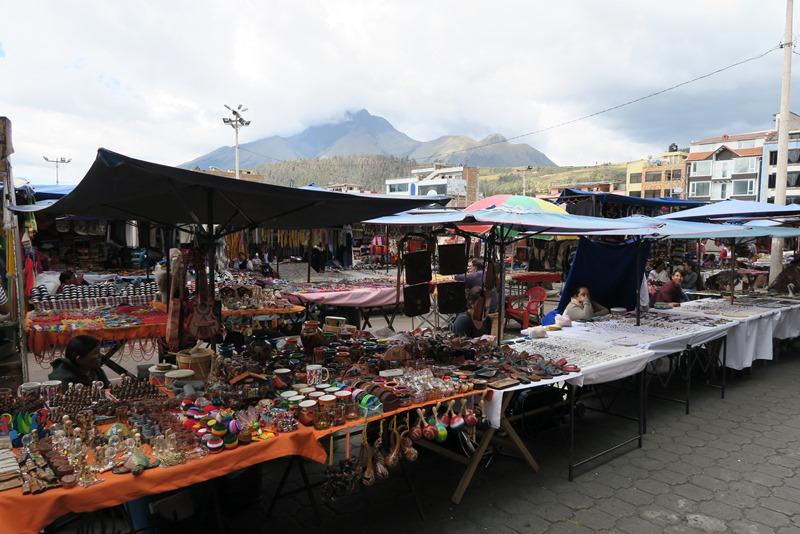 Turistmarkedet i Otavalo