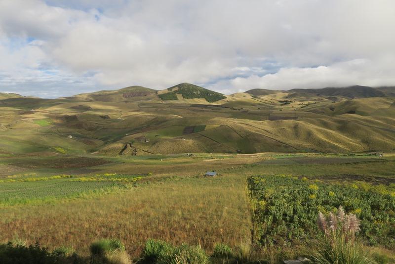 Landskabet i Andesbjergene