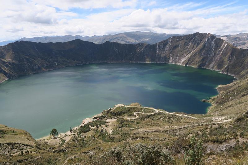 Vulkankrateret Quilotoa