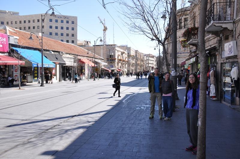 Næsten mennesketomme Jaffa Road