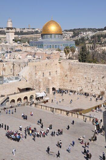 Besøg ved Grædemuren