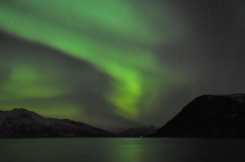 Nordlys i Tromsø