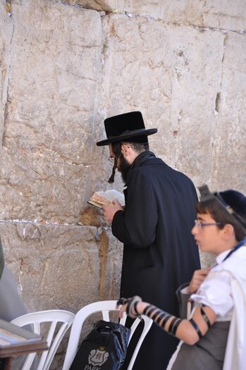 Bøn ved Grædemuren