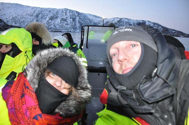 Two Danes On Tour på hvalsafari i Tromsø