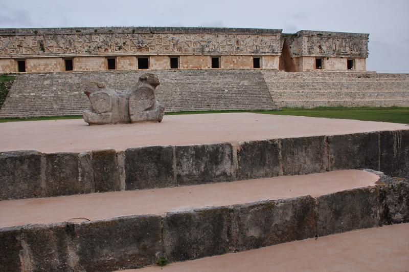 Uxmal mayaruin i Mexico