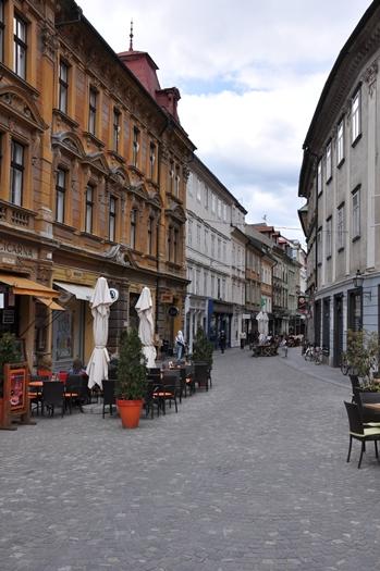 Den gamle del af Ljubliana