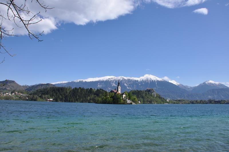 Lake Bled på en smuk dag