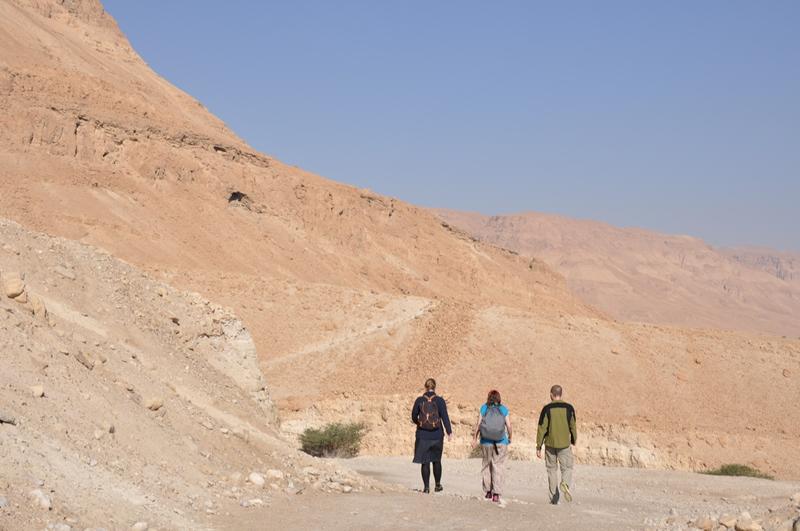 The snake path til Masada