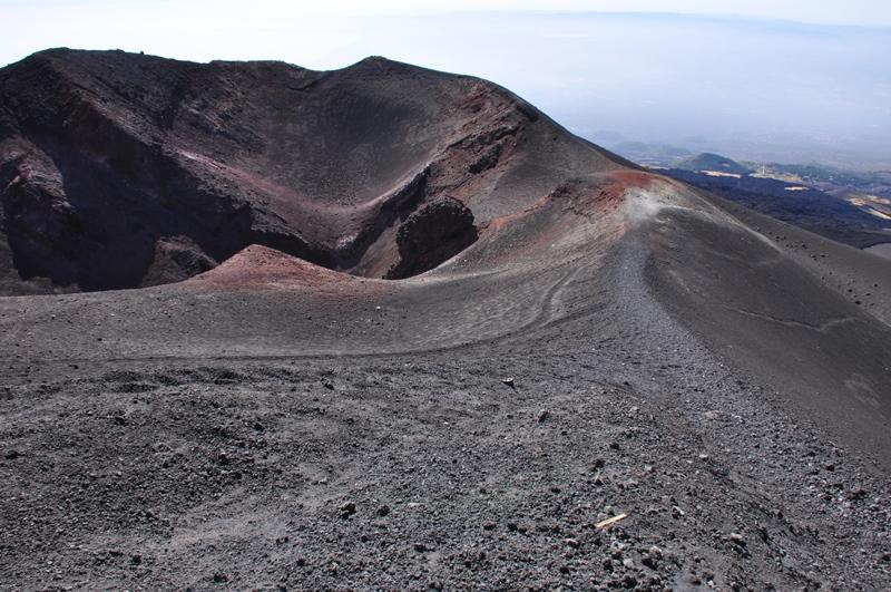 For os var dette toppen af Etna