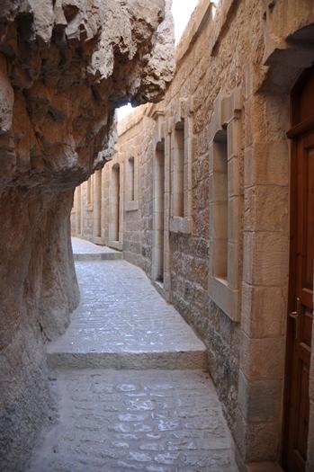 Vi besøgte et kloster i Jeriko