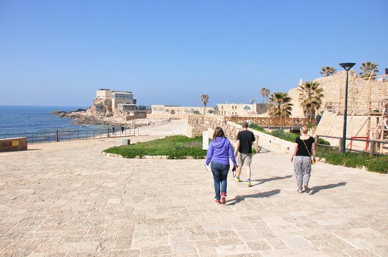 Romerbyen Caesarea i Israel