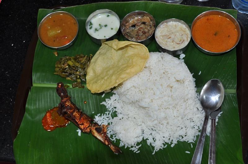 Indisk thali til frokost