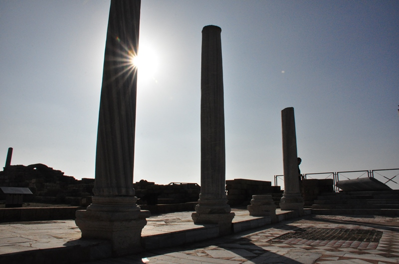 Romerske søjler i Caesarea