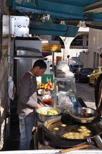 Den bedste falafelrestaurant i Betlehem