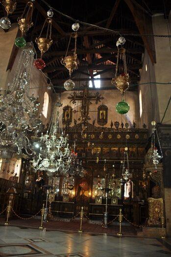 Besøg i Fødselskirken i Betlehem