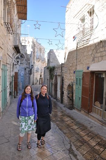 Tøserne i Starstreet i Betlehem