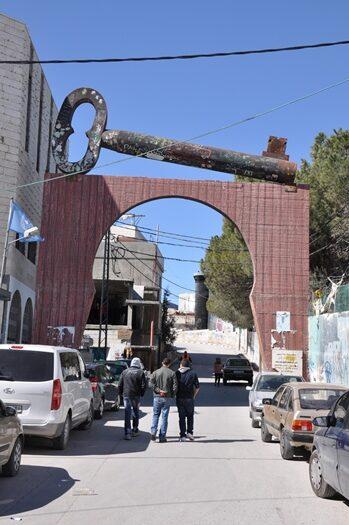 Flygtningelejr i Betlehem