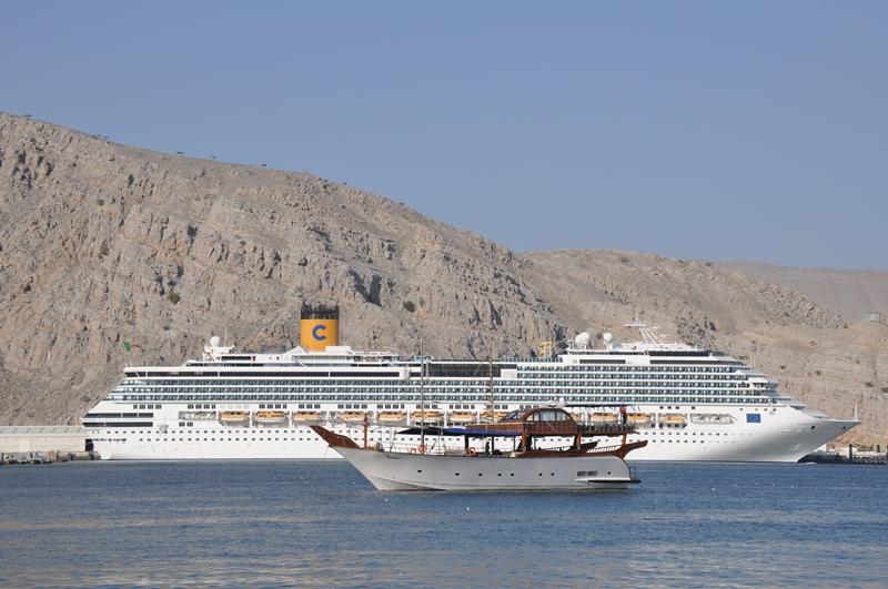 Skibe i Musandam havn