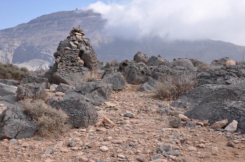 Stenlandskab i Oman